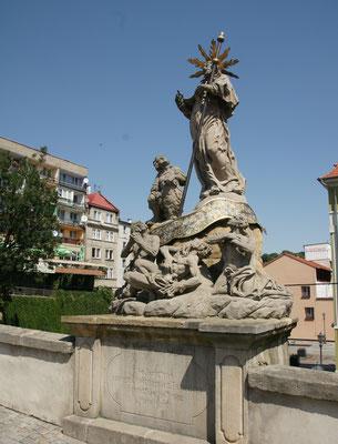 Die Brücke rüber in die historische Altstadt von Glatz