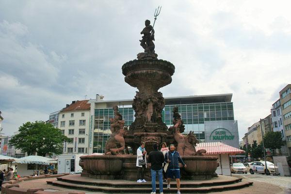 """Der  """"Neptunbrunnen"""""""