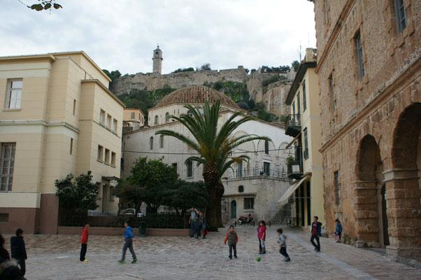 Moschee vor der Festung