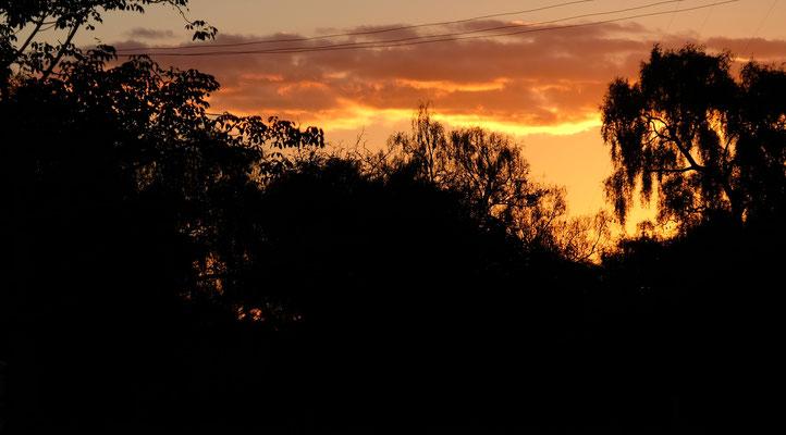 Jeden Abend eine tolle Sonnenuntergangsstimmung