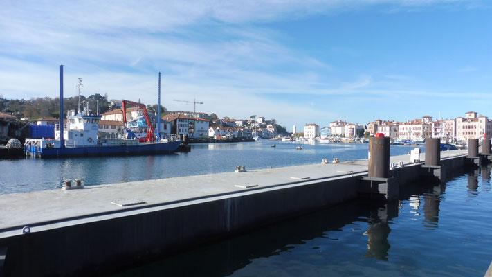 Der Hafen von St.Jean de luz