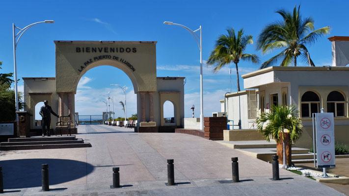 Ich glaube La Paz und die gesamte Baja California....