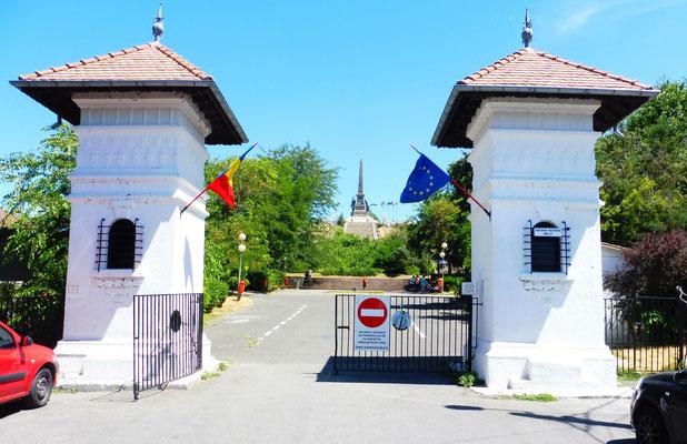 Das Monument in Tulcea