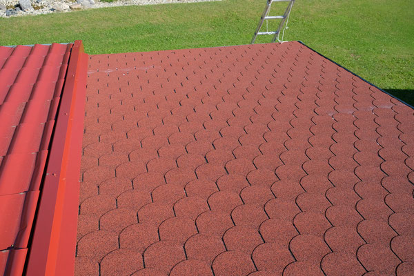 So sieht das nun aus, das Terrassendach