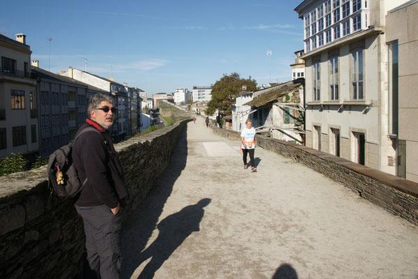 Die vollständige Stadtmauer.