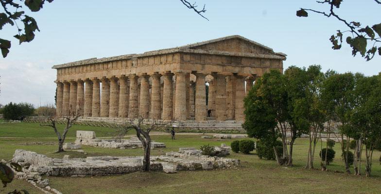 Der Netuntempel in Paestum