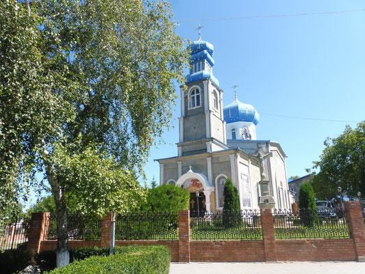 Kirche im Dorf von Vadul lei vodu
