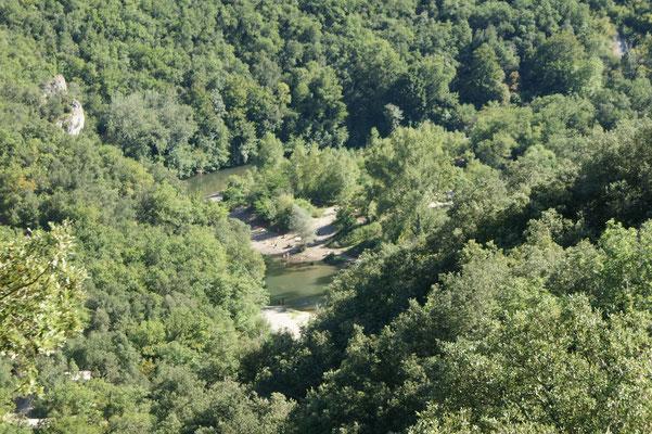 Fluss zum Baden