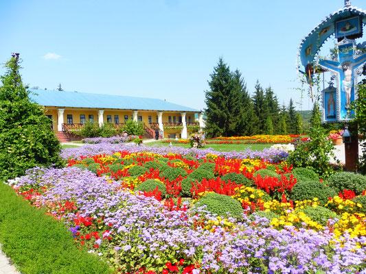 Gärten im Kloster Hancu
