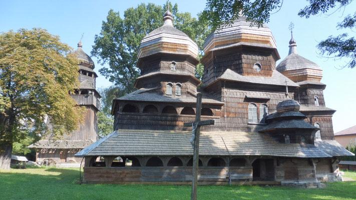 Die Georgskirche in Drohobytsch ist ein Weltkulturerbe