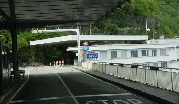 Wir verlassen Italien