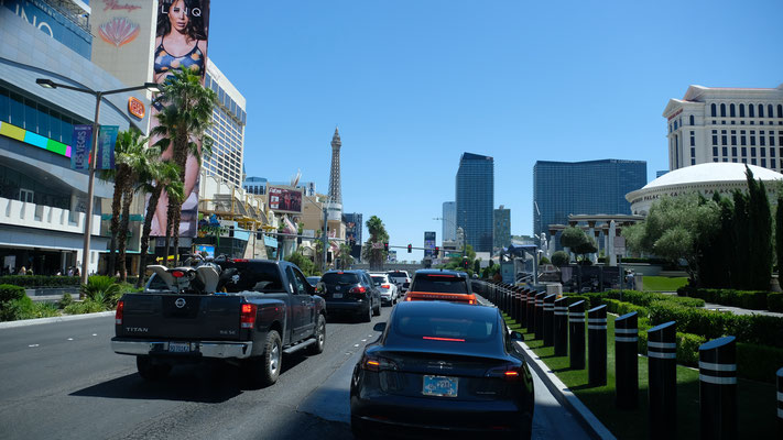 Las Vegas nach dem Shut Down füllt sich wieder