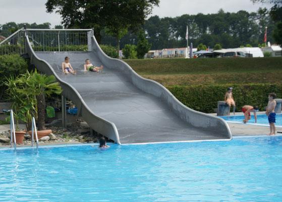 Herrliches Badewetter auf dem Camping-, und Ferienpark in Orsingen