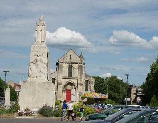 Die Altstadt von Soisson
