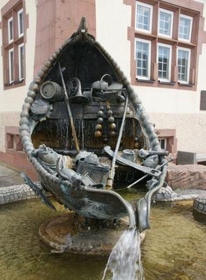 spezieller Brunnen in Bräunlingen