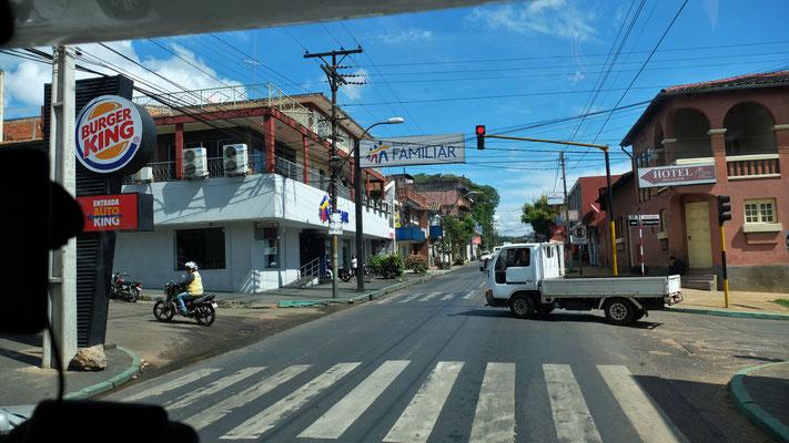 Auch Burgerking ist in Paraguay vertreten