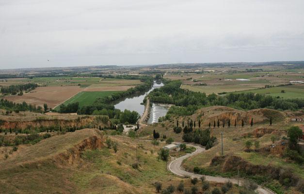 Blick von Toro ins Tal