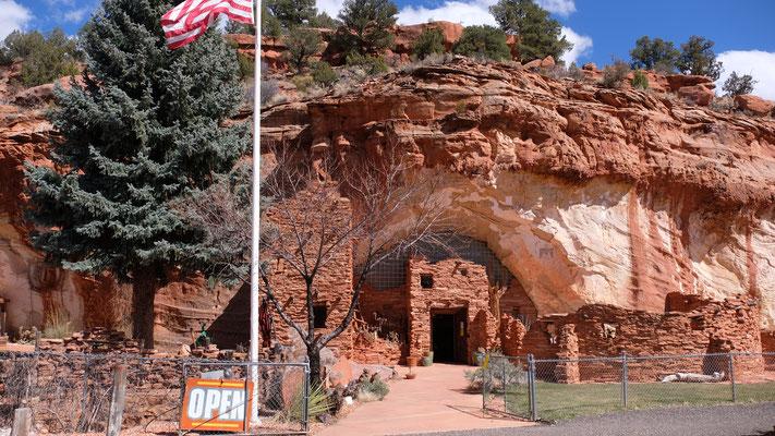 Das Höhlenmuseum ist offen