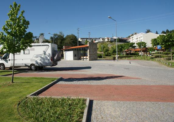 Unser Stellplatz in Belmonte