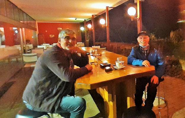 Samuel bei dem wir in Ecuador geruhsame Tage verbrachten.