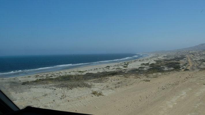 Das Cabo Blanca macht seinem Namen alle Ehren