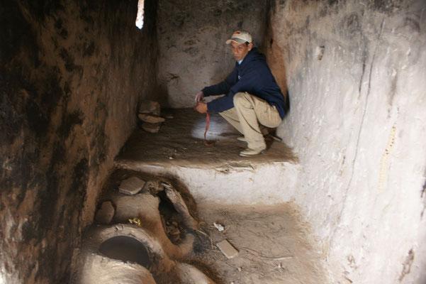 Saaid's Küche noch im original Zustand