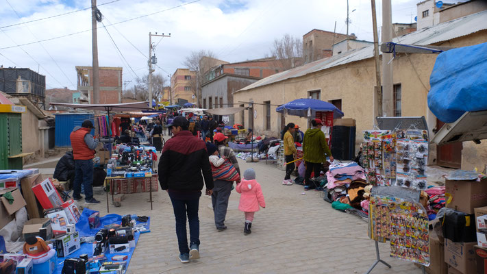 Auf dem Markt..