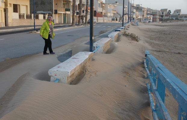 In Scoglitti am Strand......