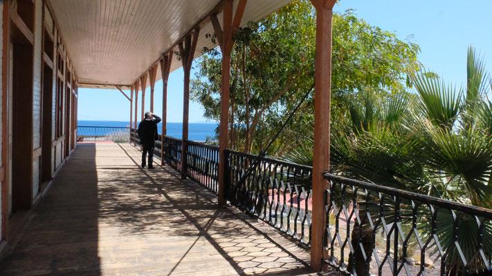 ... mit toller Aussicht über ihre Stadt Santa Rosalia