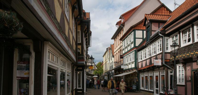 Die Altstadt von Celle.....