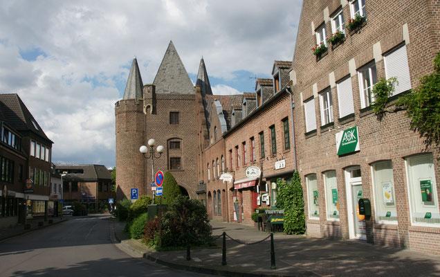 Das einzige noch erhaltene Tor von Goch