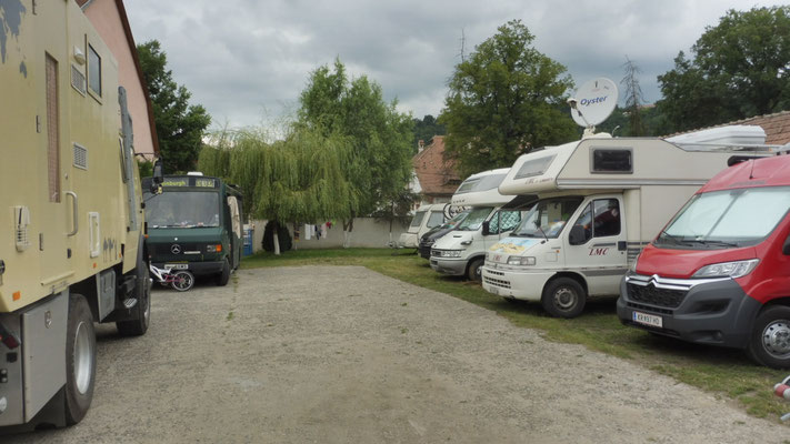 Der Campingplatz von Schässburg