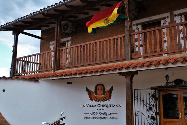Unser 5 Sternhotel in San Jose de Chiquito