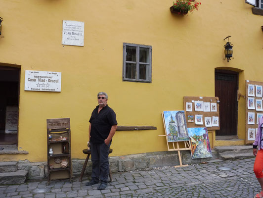 Das Geburtshaus von Graf Dracula