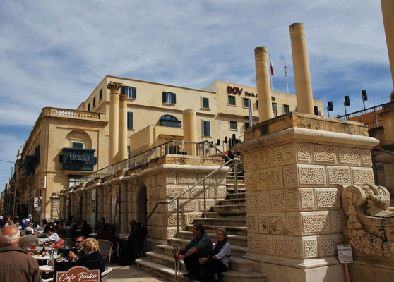 Das Theater in Valletta