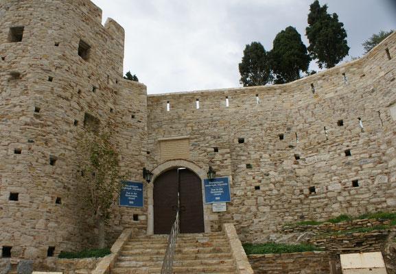Die Burg ist geschlossen