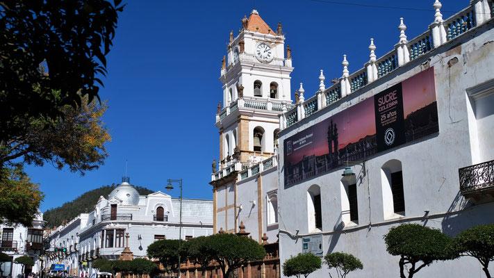 Die Kathedrale von Sucre