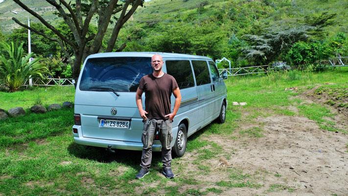Georg gesellt sich zu uns auf die Finca Sommerwind