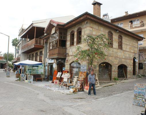 Das denkmalgeschützte Teppichgeschäft von Eyüp Haydar