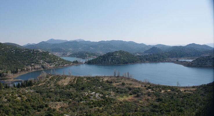 Auch Seen an der Küste