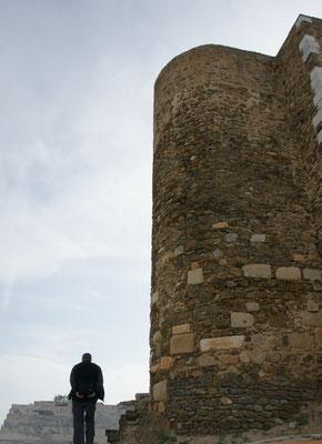 Oben bei der Festung