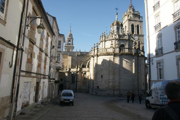 Die Kathedrale von hinten