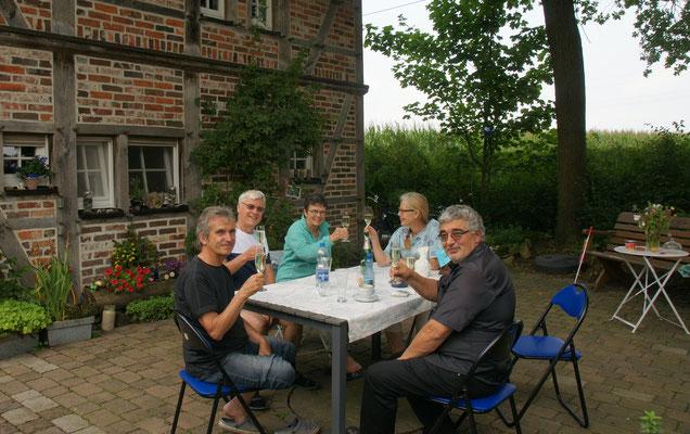 Hans und Beatrice aus der Schweiz geniessen ebenfalls das ruhige Landleben