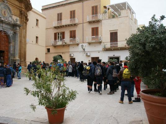Pfadfindertreffen in Marsala
