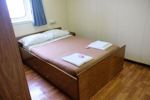 ...und separatem Schlafzimmer