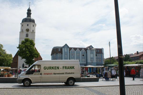 Marktplatz in Lübben
