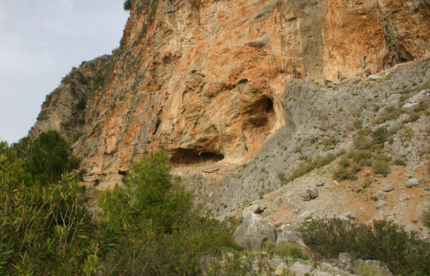 Auch andere Höhlen gibt es
