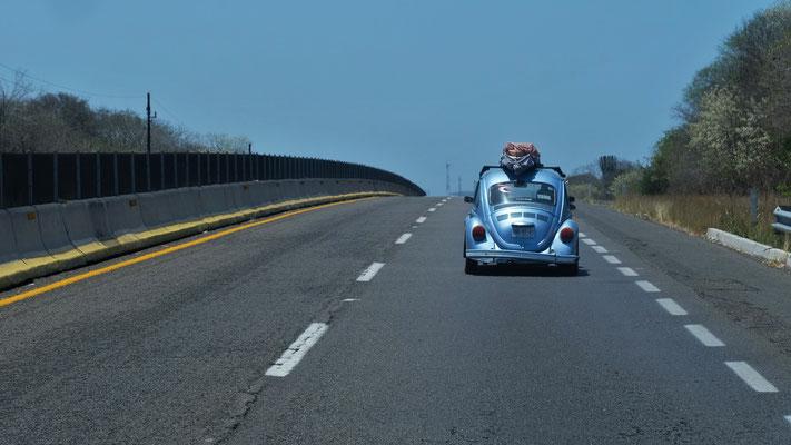 Wir sind in Mexiko, im Land der VW's