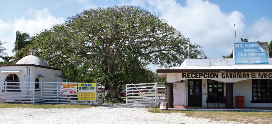 Unser Campingplatz in Cancun