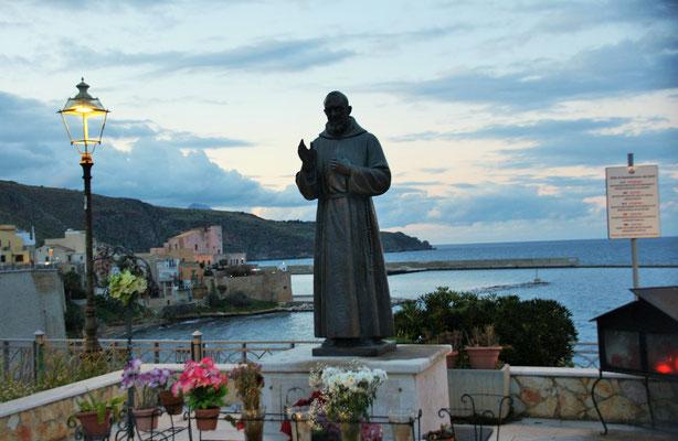 Der Stadtheilige von Castelmmare di Golfo